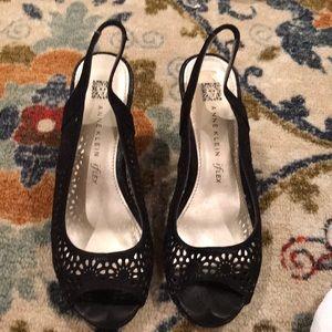 Anne Klein high heels.